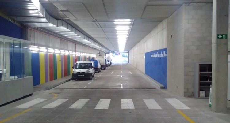 Verde_centre_neteja_Joan_Miro_Entrada